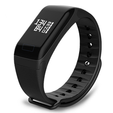 Smart Bracelet Heart Rate Monitor Blood Pressure F1 Smart Band Health Fitness Tracker Sport Wristband for Android iOS maxinrytec f1 smart wristband blood pressure bracelet watch heart rate monitor smart band health fitness tracker for android ios