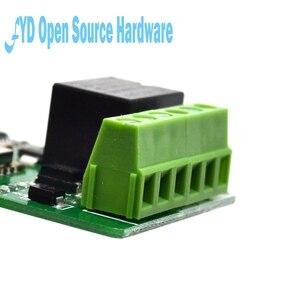 Image 3 - 1 sztuk 1 kanał New Arrival 1 sztuk zielony ESP8266 10A 220V przekaźnik sieciowy moduł WIFI wejście DC 7V ~ 30V 65x40x18mm moduły