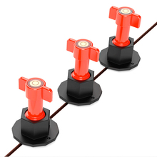 75 Pcs Level Wedges Tile Spacers Reusable Anti-Lippage Tile Leveling System Locator Tool Ceramic Floor Wall Level Equalizer