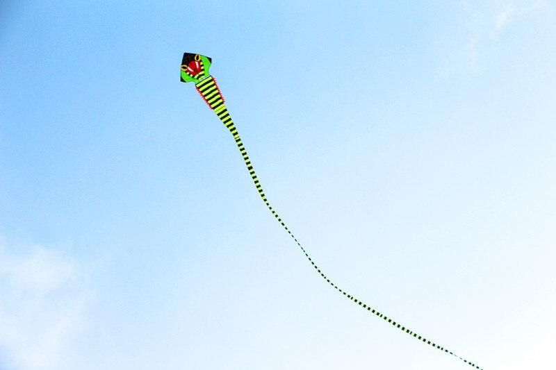 Высокого качества 40 м Кобра воздушный змей с ручкой линии супер змей Летающий змей весь воздушный змей летающие игрушки parafoil китайский дракон воздушный змей