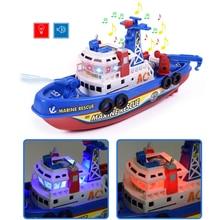 De alta velocidad luz música de rescate marítimo contra incendios barco no- juguete de control remoto de lucha contra incendios B.. de360c657b4