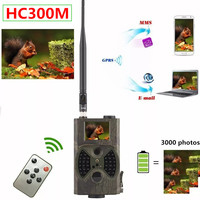 12MP Trail Hunting Camera MMS SMS GSM HC300M Photo Trap 65ft Infrared Scout Wildlife Camera Night Vision Game Cam Suntek HC 300M