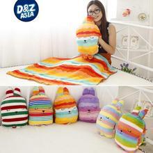 CRAFTHOLIC bear doll rabbit pillow cushion multifunctional air conditioning coral fleece blanket