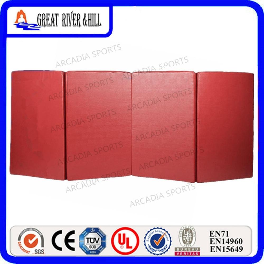 Gymnastics Exercise Eco-friendly EPE Red Foam Mat 2.4mx1.2mx3cm effects of khat catha edulis exercise