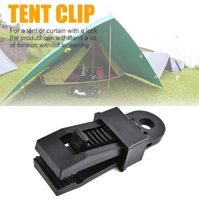 Outdoor Camping Grote Luifel Haak Tent Winddicht Alligator met Barb Clip Camping Tent Winddicht Accessoires