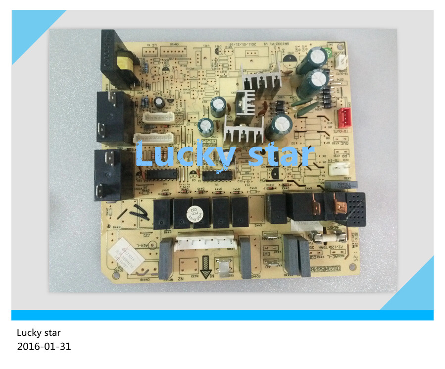 95% new for Gree Air conditioning computer board circuit board M303F3J 30133014 GRJ302-A1 good working 95% new for haier refrigerator computer board circuit board bcd 198k 0064000619 driver board good working