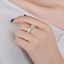 Retro 14K Multi-tone Bague or Jaune Rings for Women Men Wedding Anillos De Bizuteria Gemstone Jewelry Engagement NoEnName