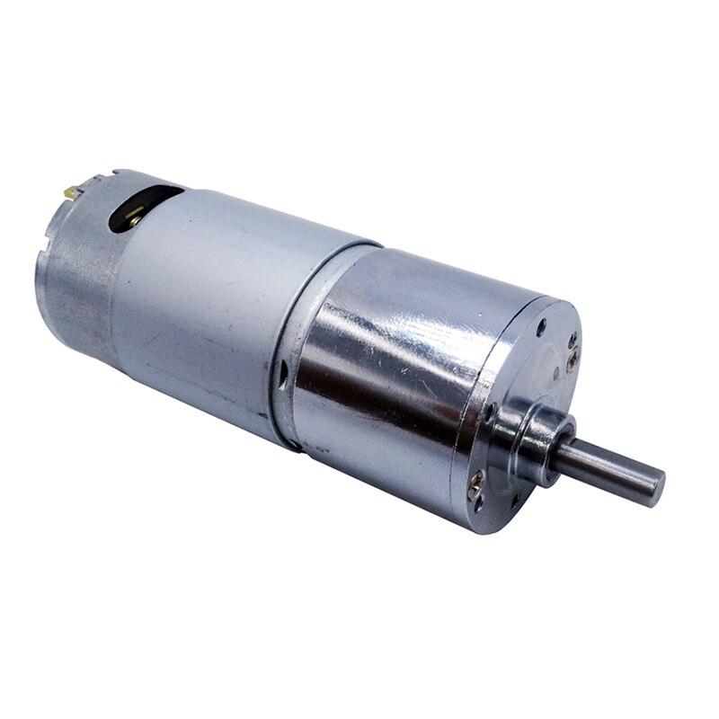 Motor da engrenagem da c.c. 12v gb37rh 24 v rs555 5 rpm 10rpm 20rpm 45rpm 80rpm 100rpm 120rpm 200rpm grande torque