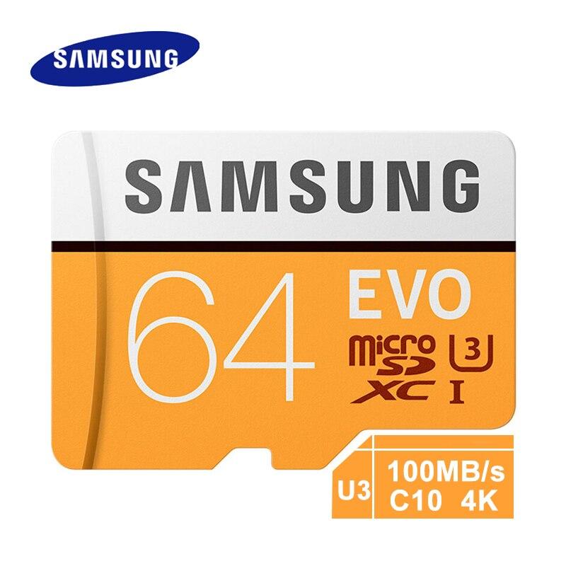 SAMSUNG Micro SD Memory Card EVO 32GB Class10 128GB tarjeta micro sd 256GB tf flash card 6