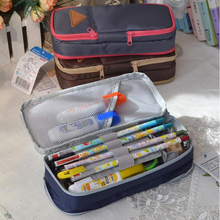 Big pen curtain multifunctional pencil case super large capacity stationery bags box new year gift 04827