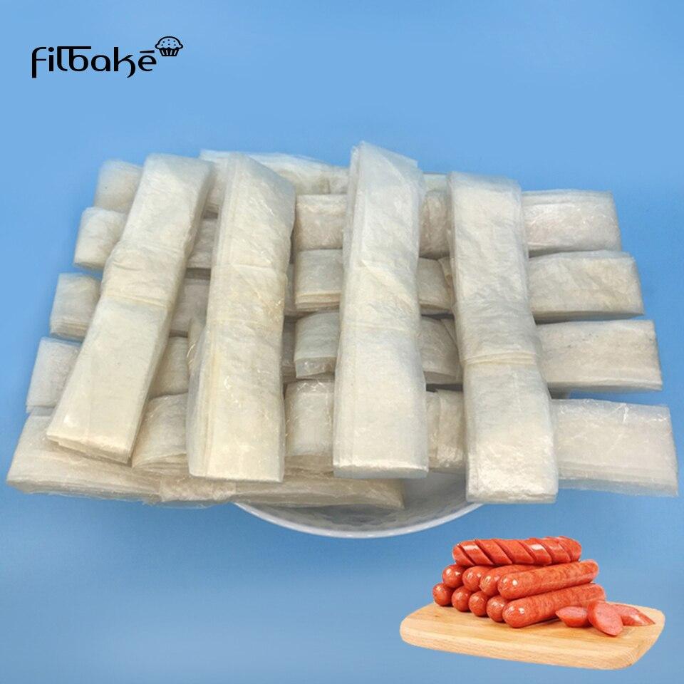 FILBAKE сухой оболочка из Овцы диаметр 18 мм-20 мм натуральный овечья колбаса крышка, колбасная оболочка, кухня колбаса упаковочные инструменты