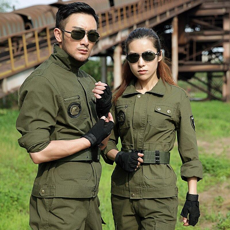Uniforme militaire militaire tactique chemise + pantalon Camouflage Camouflage uniforme de Combat multi-sac résistant à l'usure vêtements de travail