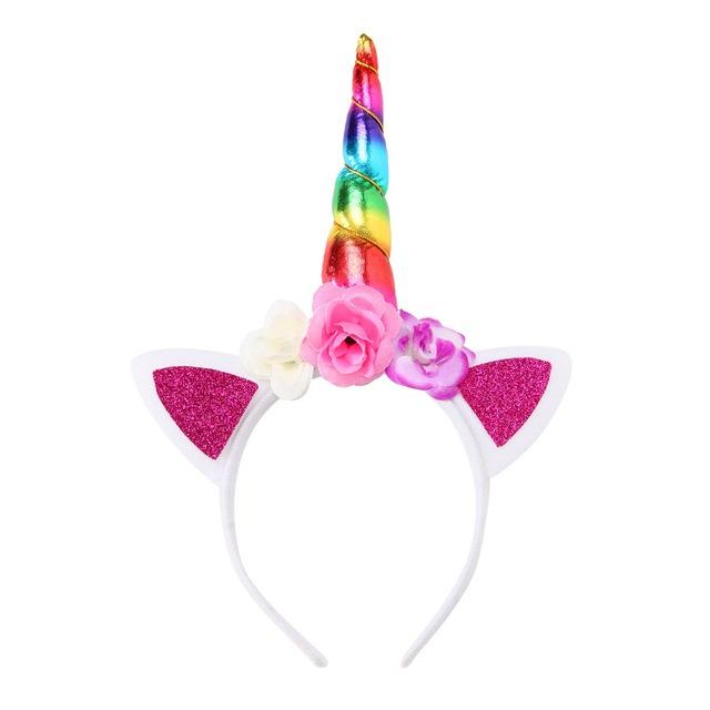 Girls' Cute Unicorn Shaped Headband