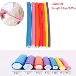 10 Pcs/Lot  DIY Magic Hair Curlers Tool Styling Rollers Sponge Hair Curling Soft Hair Curler Roller Curl Hair Bendy Rollers