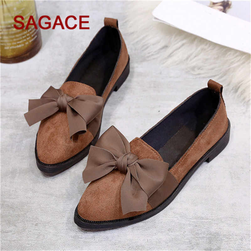 a1ede857124 HB SAGACE Ladies Pumps Women Pointed Toe Flock Slip-On Shoes Square Heel  Jobs