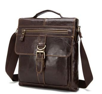 Fasion Genuine Leather Bag Men Bags Fashion Male Messenger Bag Men's Briefcase Man Casual Crossbody Bags Shoulder Handbag