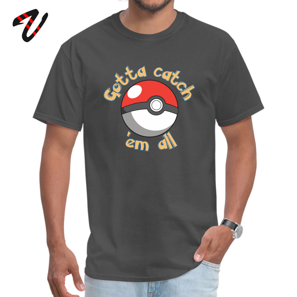 Gotta catch em all All Wehrmacht Casual Tops Shirt New Design John Lennon Sleeve Men T shirts Gift Father Day Tee Shirts O Neck in T Shirts from Men 39 s Clothing
