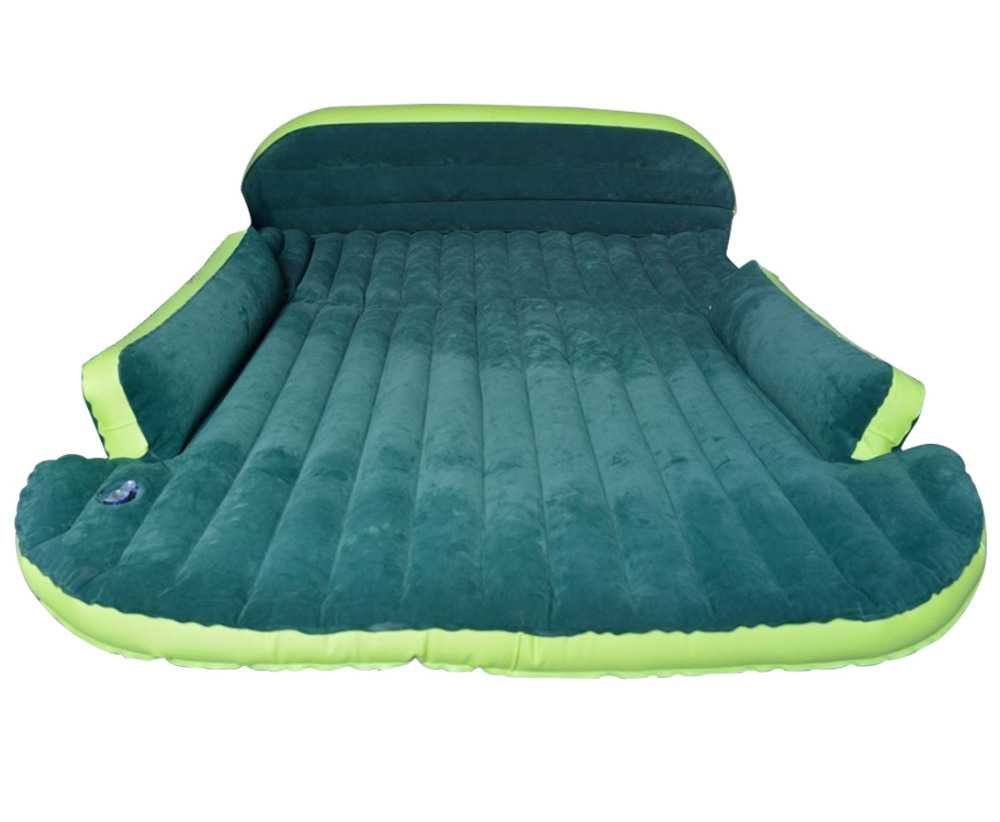 Car Travel Air Mattresses Bed Inflation Back Seat Sleep Rest Cushion for SUV drive travel deflatable air inflation bed mattress suv camping pvc material car seat cover cushion with car electric air pump