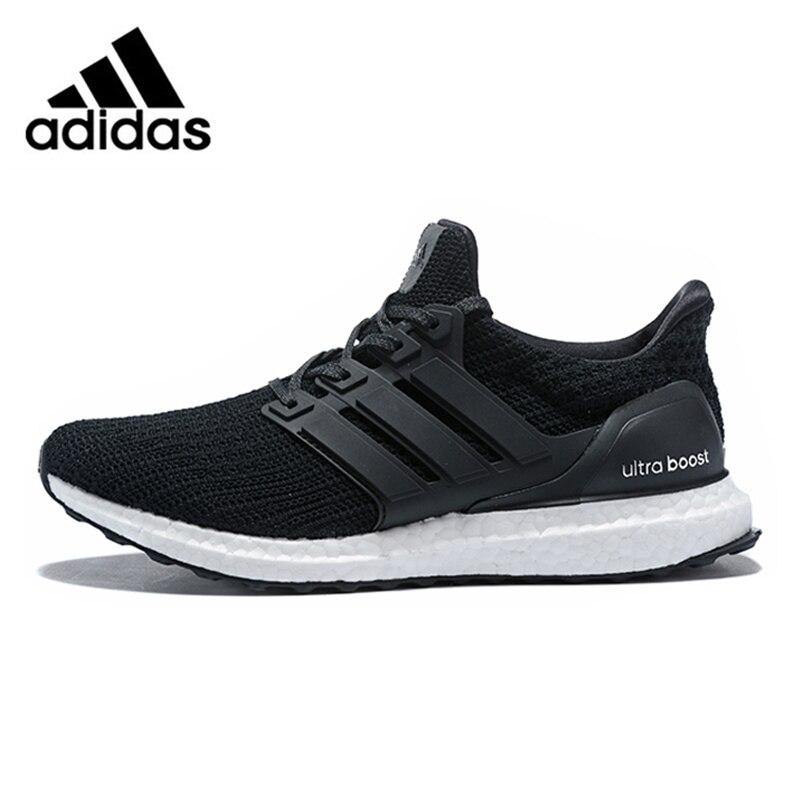 best website 1869b f53fc Adidas Ultra Boost 4.0 UB 4.0 Popcorn Men Running Shoes Sneakers Sports  Black White for Men
