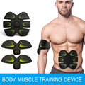 EMS Multi-Function Smart Fitness Abdominal Arm Exerciser Muscles Intensive Training Weight Loss Electric Slimming Massager