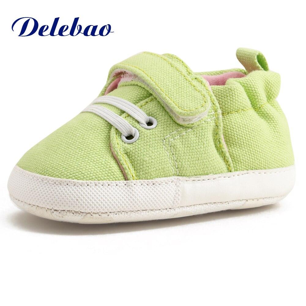 Delebao 2017 ontwerp lente / herfst baby schoenen unieke PU antislip - Baby schoentjes - Foto 4