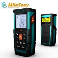 Mileseey X6 100M Handheld Rangefinder Laser Measuring Tool Laser Distance Meter Digital Laser Range Finder