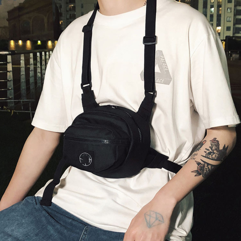 Hip Hop Chest Bag For Women & Men 2019 New Fashion Multi-function Boys Waist Bags Tactical Crossbody Shoulder Bags Trend Pocket