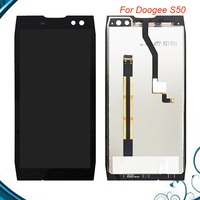 100% Tested OK For 5.7 inch Doogee S50 LCD Display+Touch Screen Digitizer Assembly Replacement Black Color IN Stock