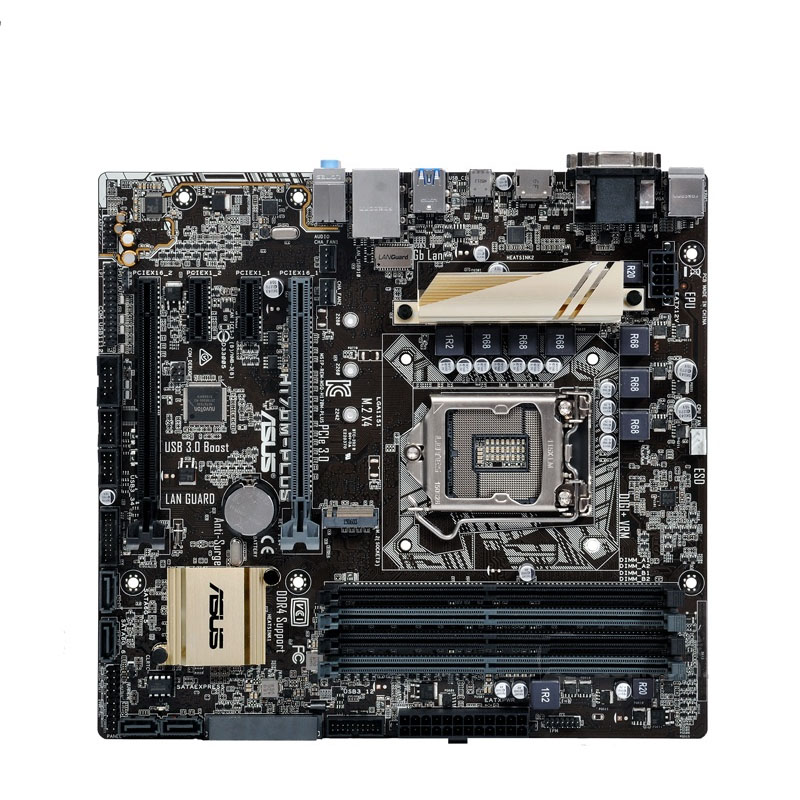 ASUS original H170 H170M-PLUS game board MATX LGA1151 specifications with M.2 interface