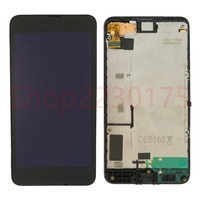 For Nokia Lumia 630 RM 977 RM 978 LCD Display Touch Screen Digitizer Assembly Frame Replacement