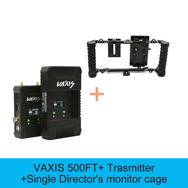 VAXIS 500ft+ 200M SDI HDMI 3G 1080P transmission Broadcast system Audio/Video Camera HD transmitter&Receiver Monitor Cage option niorfnio portable 0 6w fm transmitter mp3 broadcast radio transmitter for car meeting tour guide y4409b