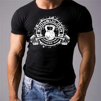 Gymer Bodybuilding Workout Mma T Shirt Beast Hulk Mode Clothing Weight Lifting Men T Shirt Short