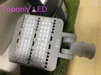 New Design aluminum profile led street lighting 60w outdoor waterproof Bridgelux chips MeanWell power driver led road lamp