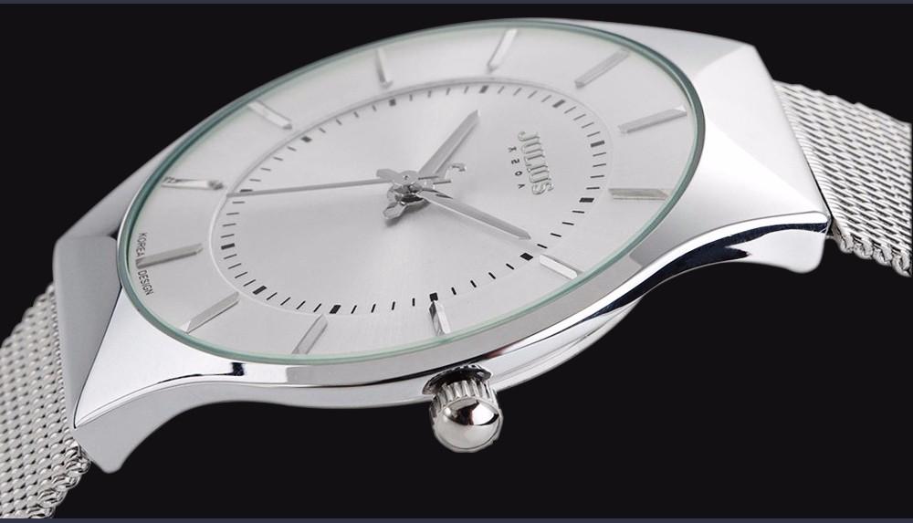 Julius Men Watch Stainless Steel Band Analog Display Quartz Wristwatch (13)