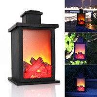 Новый горячий 1 шт камин светодиодный эффект горения лампа-фонарь прочный для сада лужайки спальни