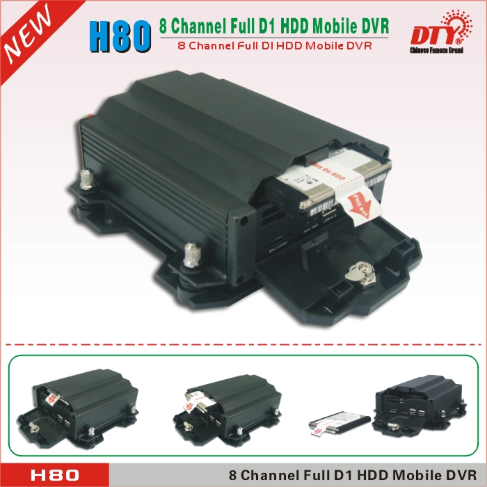 Low Power Consumption Ch School Bus Car Hdd Dvr Gps Wifi Vehicle Tracking System Hgw