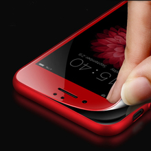 wangcangli red Full coverage Protective glass for iPhone 6 6 plus 3D safety glass screen