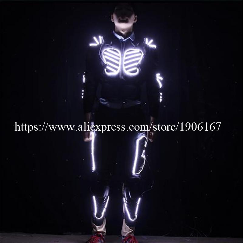 LED Costume LED Clothing Light suits LED Robot suits david robot02