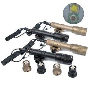Image 2 - LAMBUL M600V IR Licht Scout NV Jagd Nacht Evolution LED Taschenlampe Armas Taktische Infrarot Waffe Licht Für Outdoor Sport