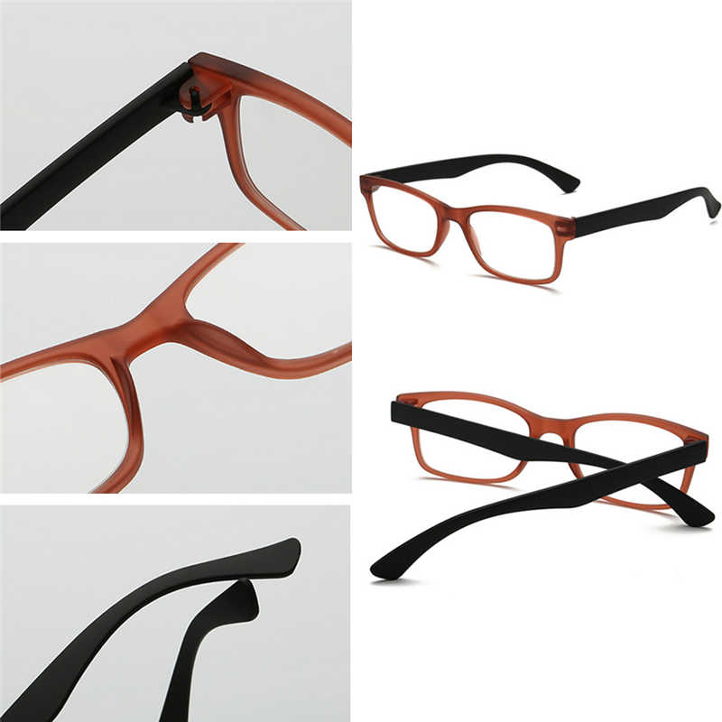 Ультралегкие очки для чтения пресбиопические очки Gafas De Lectura oculos полная рамка + 1,0 до + 4,0 портативный подарок для родителей-W710