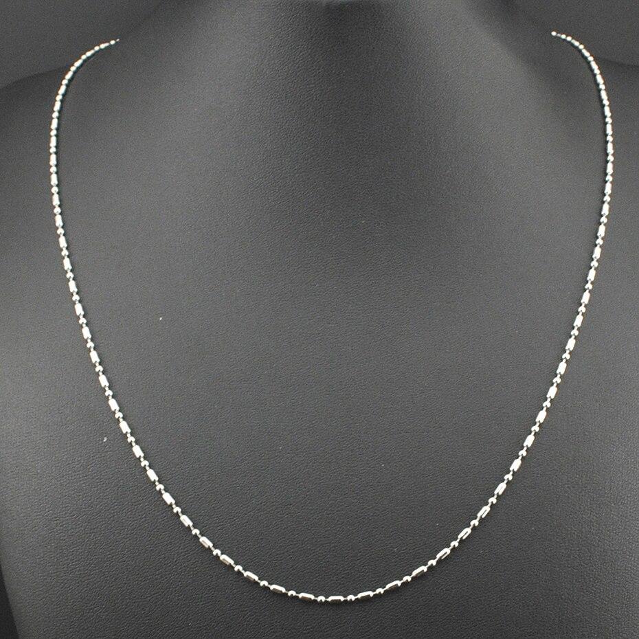 ddfe452a8267 Click here to Buy Now!! Amumiu оптовая продажа Цепи Bamboo звено Цепочки и ожерелья  Нержавеющая сталь серебро Для мужчин ...
