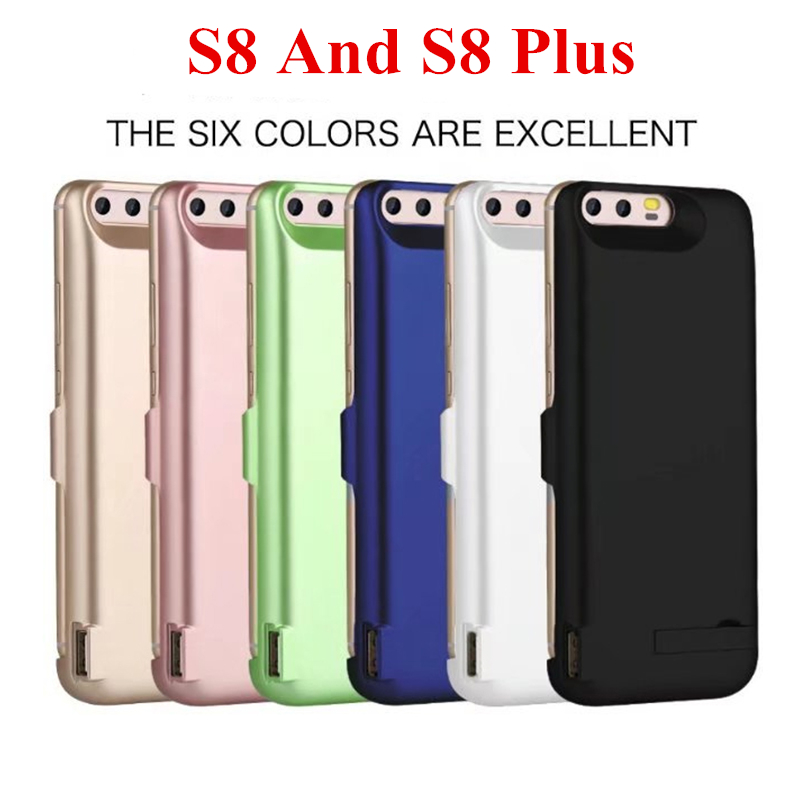 5500mah for samsung galaxy s8 battery case external s8 battery charger case power bank 6500mah. Black Bedroom Furniture Sets. Home Design Ideas
