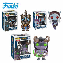 Funko Pop WOW Theme World Of Warcraft Game Vinyl Dolls  #15 ARTHAS #14 ILLIDAN #30 SYLVANAS Hand Desktop Furnishing Article Gift