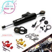 Motorcycle CNC Damper Steering StabilizerLinear Reversed Safety Control with Bracket For YAMAHA YZF R6 2006 2016 R1 2009 2012