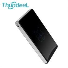 ThundeaL DLP100WM Mini Pico DLP Android Proyector 1000 Lúmenes Batería 5000 mAh USB TF HDMI Salida de Cine en Casa Proyector Proyector
