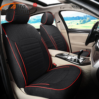 Custom Fit Cover Seat Car For VW Volkswagen Touareg 2011 2015 Seat Covers For Car Cushion