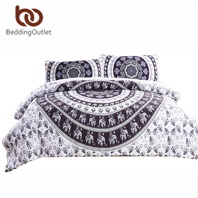 Beddingoutlet Boho Comforter Set Vanitas Quilt Duvet Bohemian Style