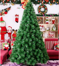 2016 New Year Christmas tree 1.8 m 2.1m 2.4m Colorado Tree Decorated Xmas Christmas Tree Pine Needles Flowering PackageZA1173