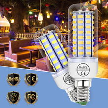 Bombillas led Bulb GU10 Led Lamp Corn E27 220V Candle Light 5730SMD Chandelier Lampada 3W 5W 7W 9W 12W 15W Wall