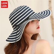купить 2019 Women Visors Hat Fishing Beach Hat UV Protection Ladies Cap Handmade Casual Flat Brim Bowknot for Women Wide Brim Sun Hat по цене 521.05 рублей